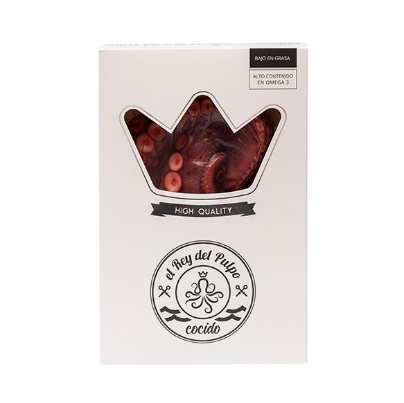Pulpo cocido packaging