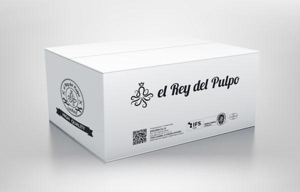 Caja El Rey del Pulpo