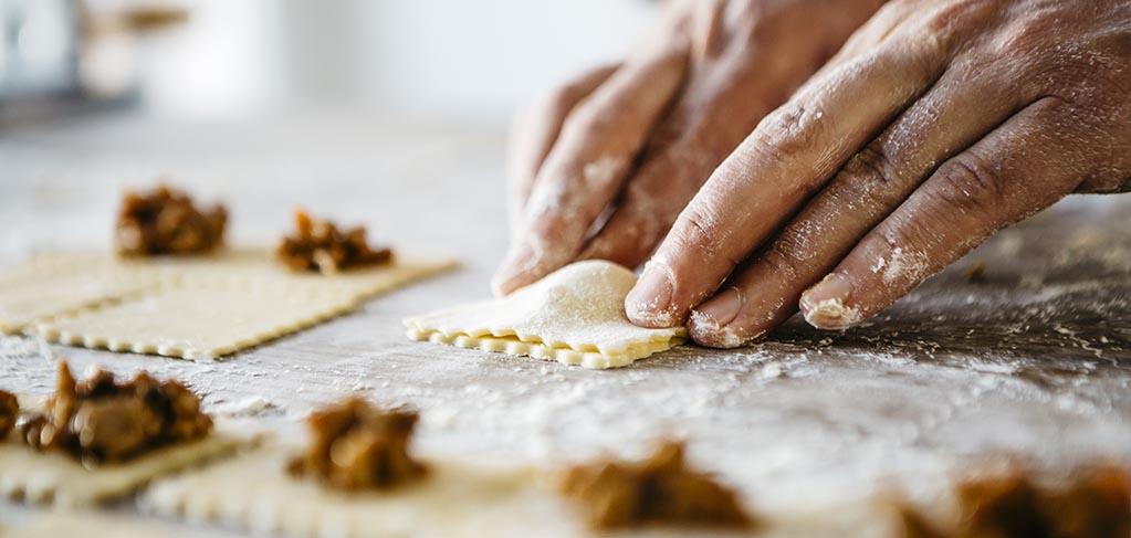 Como hacer raviolis rellenos